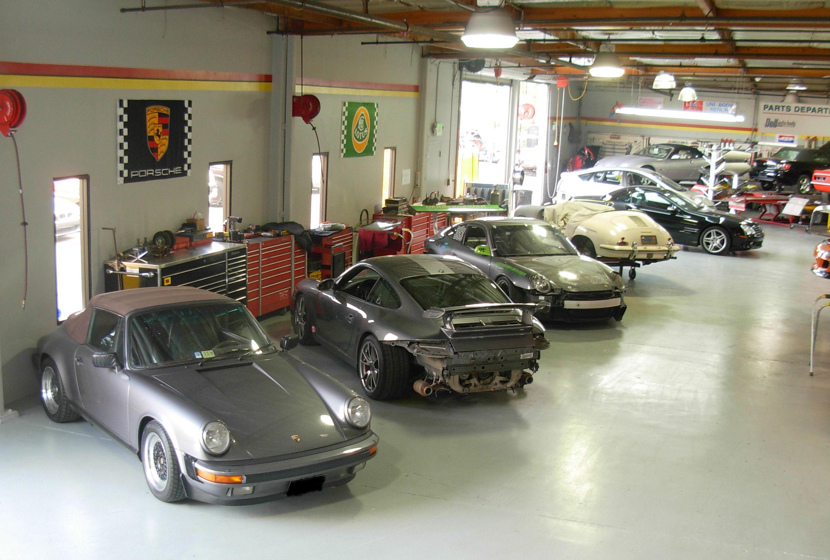 Dell Auto Group Loma Prieta Region Porsche Club Of America - Porsche collision repair